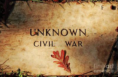 Unknown Civil War Print by Kathleen K Parker