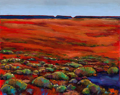 Sagebrush Painting - Unknown Plateau by Johnathan Harris