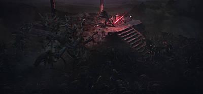 Epic Digital Art - Unleashing The Dark Side by Guillem H Pongiluppi