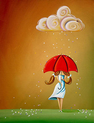 Dreams Painting - Unpredictable by Cindy Thornton