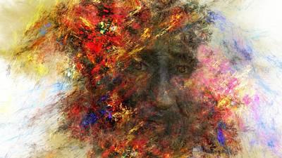 Digital Art - Unpredictable Emotions by David Dehner