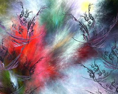 Abstracts Digital Art - Untitled 4-26-10-a by David Lane