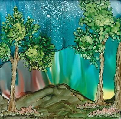 Tree Painting - Untitled by Adrienne Harrington