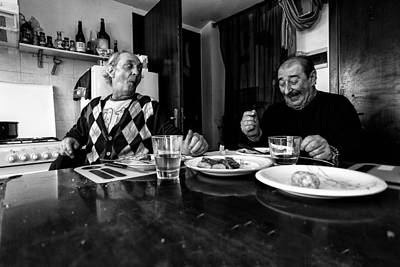 Lunch Photograph - Untitled by Alessio Bongiorni