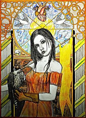 Heartbreaker Painting - Untitled Muse 2 by Josean Rivera