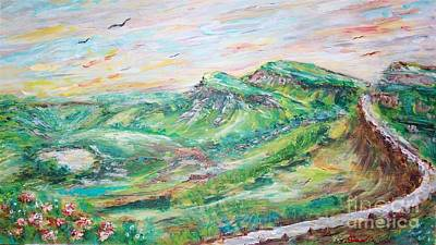 Painting - Uphill by Mary Sedici