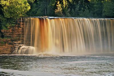 Upper Tahquamenon Falls 6279 Print by Michael Peychich