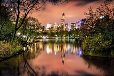 New York Skyline Photograph - Uptown Skyscrapers by Az Jackson