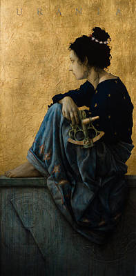 Luis Painting - Urania by Jose Luis Munoz Luque
