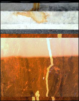 Urban Abstracts Seeing Double 59 Print by Marlene Burns