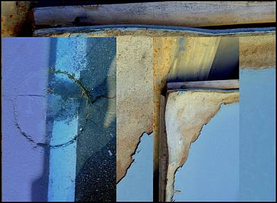 Urban Abstracts Seeing Double 62 Print by Marlene Burns