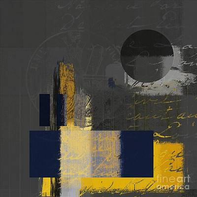 Abstract Shapes Digital Art - Urban Artan - Spsp11 by Variance Collections