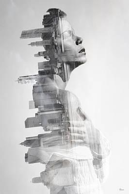 Towns Digital Art - Urban by Bojan Jevtic