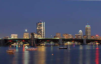 New Photograph - Urban Boston by Juergen Roth