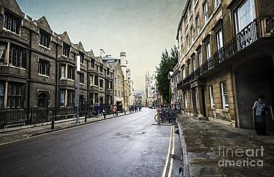 Suburban Digital Art - Urban Cambridge  by Svetlana Sewell