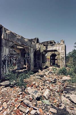 Vandalize Photograph - Urban Graffiti  by Kim Hojnacki