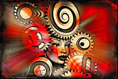 Urban Medusa Print by Jeff  Gettis