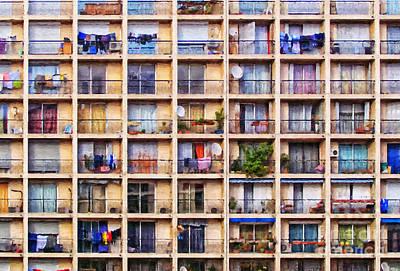 Urbanisation Print by Antony McAulay
