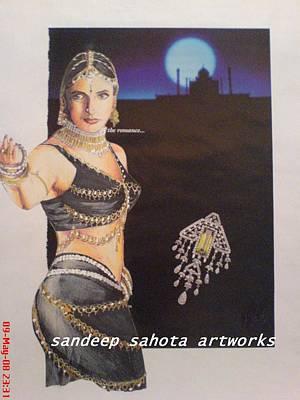 Catherine Jackson Painting - Urmila by Sandeep Kumar Sahota