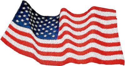 Patriotism Photograph - U.s. Flag by George Robinson