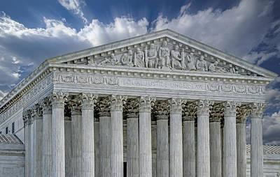Us Supreme Court II Print by Susan Candelario