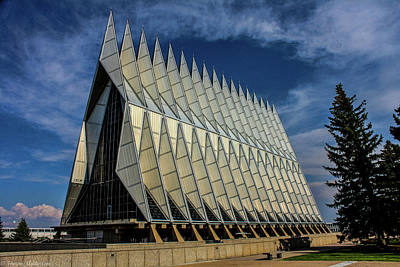 Photograph - Usaf Academy Chapel by Tommy Anderson