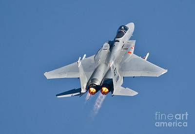 Usaf Painting - Usaf Jet by Celestial Images