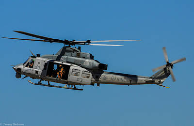 Photograph - Usmc Huey Uh-1n by Tommy Anderson