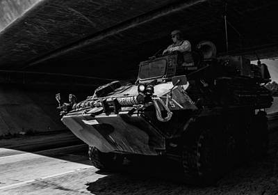 Photograph - Usmc Lav-25 by Tommy Anderson