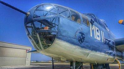 Photograph - Usmc Pbj-ij Mitchell by Tommy Anderson