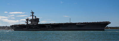Photograph - Uss Carl Vinson Cvn 70 2 by Tommy Anderson