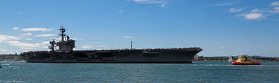Photograph - Uss Carl Vinson Cvn 70 3 by Tommy Anderson