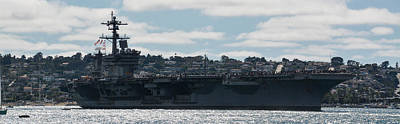 Photograph - Uss Carl Vinson Cvn 70 by Tommy Anderson