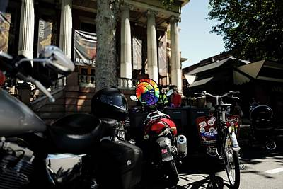 Bicycle Photograph - Utah Pride Festival - Salt Lake City by Rona Black