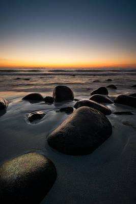 Uttakleiv Rocks Print by Tor-Ivar Naess