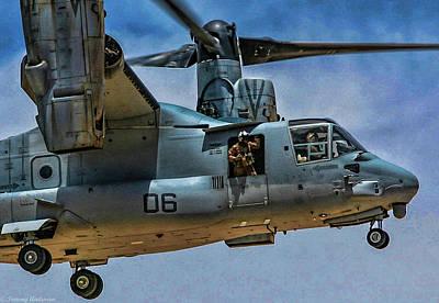 Photograph - V-22 Osprey 2 by Tommy Anderson
