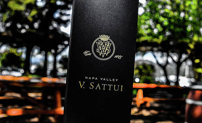 Sattui Photograph - V. Sattui Wine Bag by Jeremy Rickman