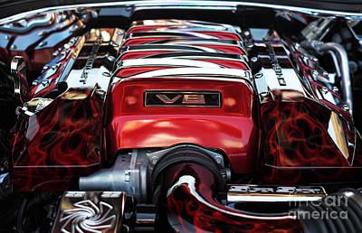 V8 Print by John Rizzuto