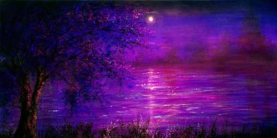 Light Painting - Valentine Sunset by Ann Marie Bone