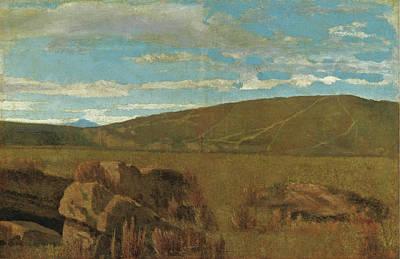 Giuseppe Abbati Painting - Vallata A Castiglioncello by Giuseppe Abbati