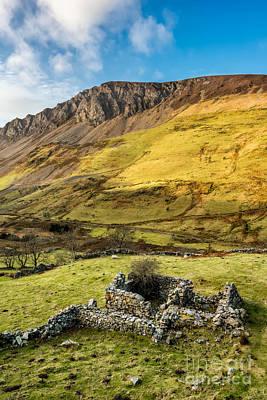 Valley Ruins Print by Adrian Evans