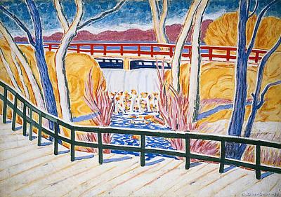 Bronx Painting - Van Cortland Park by Mountain Dreams