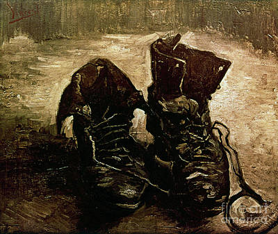Van Gogh Boots 1886 Print by Granger