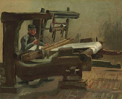 Spiritual Teacher Painting - Van Gogh Weaver Facing Right by Vincent Van Gogh