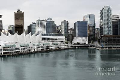 Landscape Photograph - Vancouver City by Dani Prints and Images