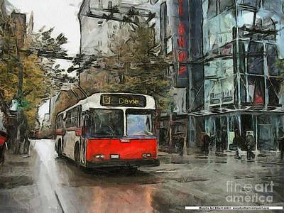 Vancouver Streets Original by Murphy Elliott