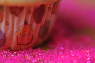 Vanilla Cupcake Closeup Original by Jim Harris