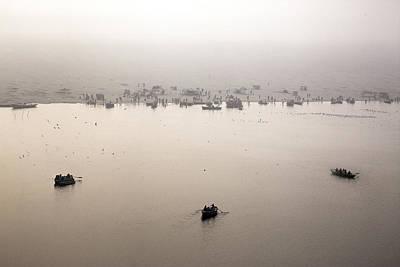 Cremation Ghat Photograph - Varanasi - India by Joana Kruse