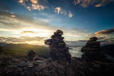 Beautiful Scenery Photograph - Vardan by Tor-Ivar Naess