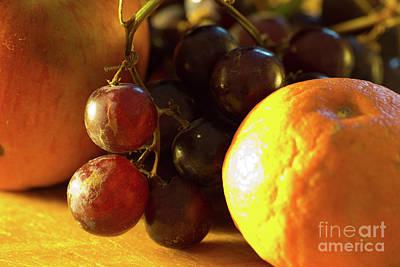 Various Fruit Print by Brian Roscorla